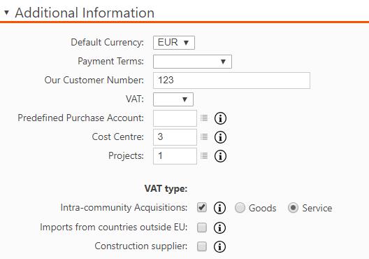 Create a new Supplier Invoice – Briox Help Centre